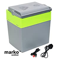 tenty.co.uk 30L Litre Capacity Electrical Coolbox 240V AC & 12V DC Electric Cool Box Cooler