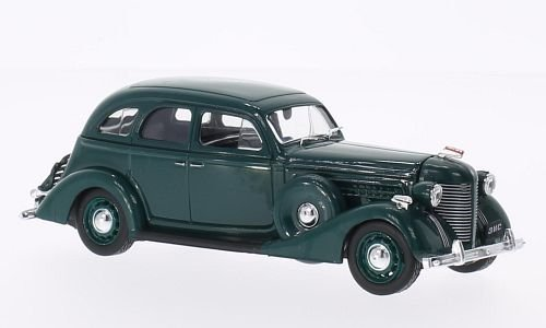 ZIZ 101A, dark green, Model Car, Ready-made, SpecialC.-58 1:43 by ZIZ