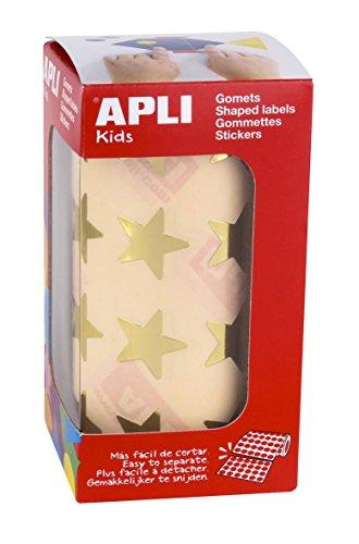 APLI Kids - Rollo de gomets estrella grande