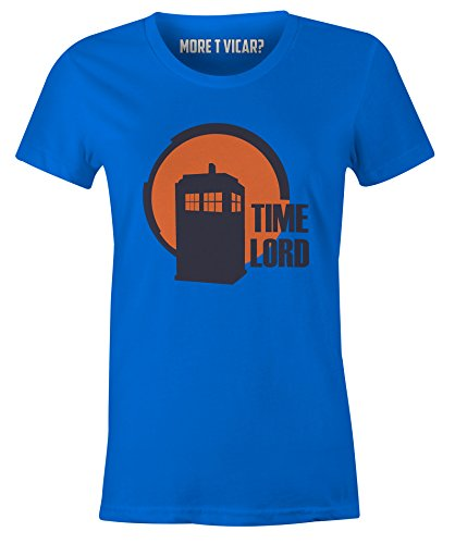 Time Lord - Ladies Dr Who Tardis T Shirt