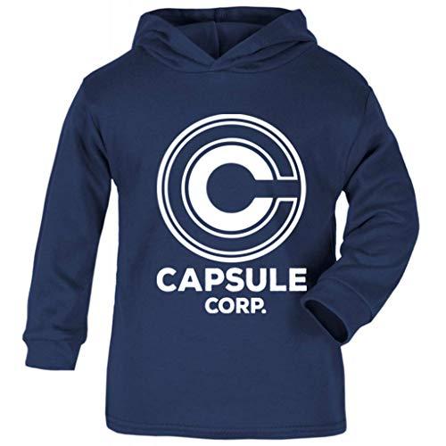 (Capsule Corp Dragon Ball Z Baby and Kids Hooded Sweatshirt)