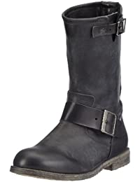 Buffalo London 13980 WASHED LEATHER Damen Biker Boots