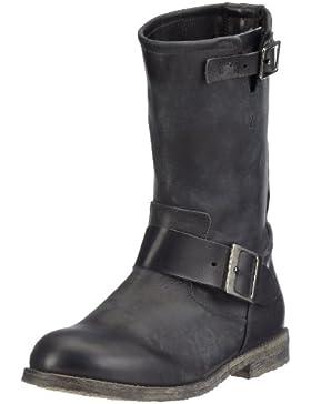 Buffalo London 13980 WASHED LEATHER Damen Biker Boots