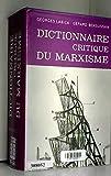 Dictionnaire critique du marxisme