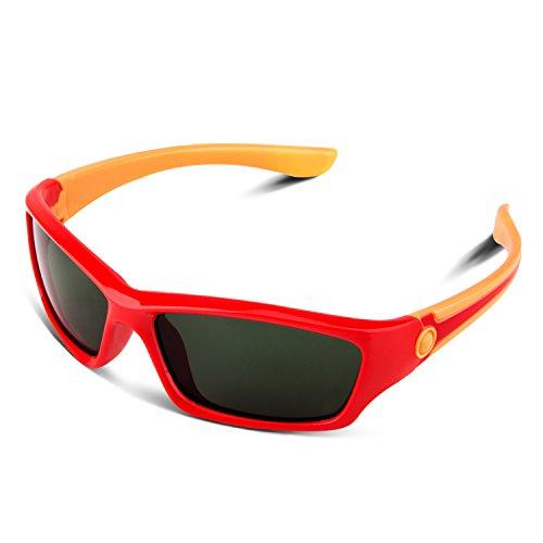 RIVBOS rbk025de goma flexible para gafas polarizadas gafas de sol para bebés...