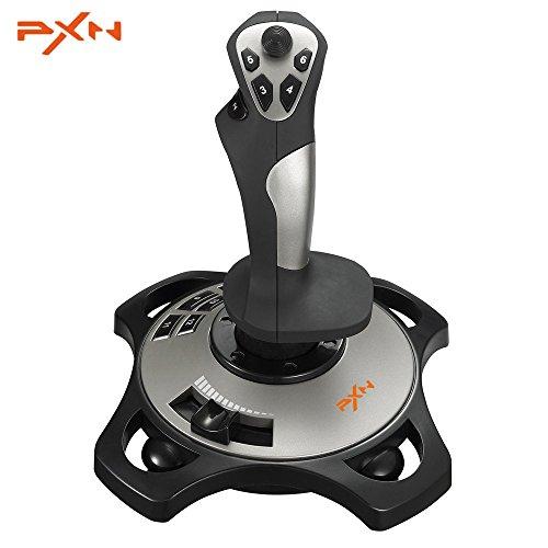 PXn Pro 2113Spiel Joystick Simulator Professionelles Gaming Controller mit Draht 4Achsen Flying Unterstützung für Windows XP/7/8/10 - Vier-draht-unterstützung