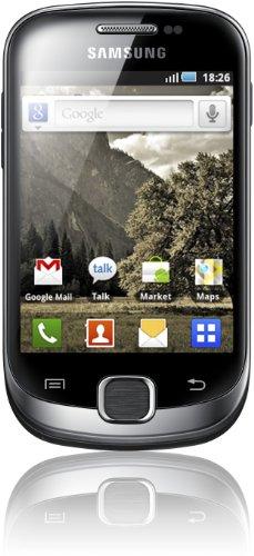 Samsung Samsung Galaxy Fit S5670 Smartphone (8,4 cm (3,3 Zoll) Display, Touchscreen, 5 Megapixel Kamera, Android 2.2, UMTS) metallic-schwarz