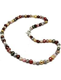 fbc90471fd67 Amazon.es  El coral - Perlas   Collares y colgantes  Joyería