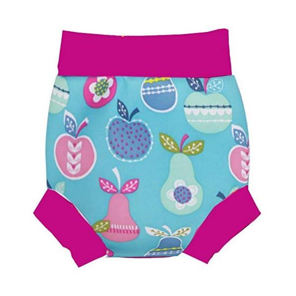 Odziezet Pañales de Natación Reutilizables Bebés Nadar de Bebé Pañal Lavable para Bebé de 0-5 Años 2