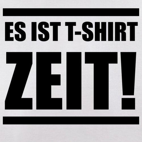 Es ist T-Shirt Zeit! - Herren T-Shirt - 13 Farben Weiß