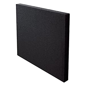 Rexel ActiVita 600 x 600 mm Wall Mounted Noise Reducing Panel - Black (Pack of 4)