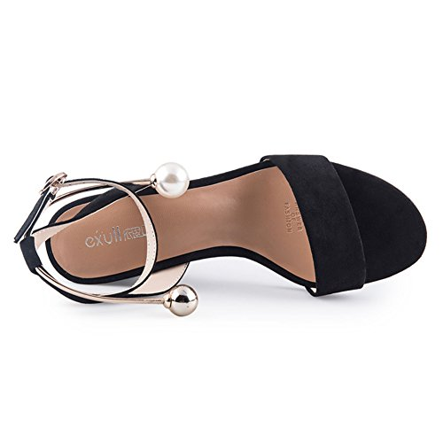 Verano, Zapatos De Franela / A Word With, Rough Heels / Sandalias De Tacón Alto A