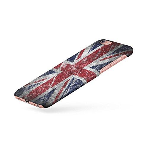London Great Britain England Flag Custodia Posteriore Sottile In Plastica Rigida Cover Per iPhone 7 Plus & iPhone 8 Plus Slim Fit Hard Case Cover UK Flag