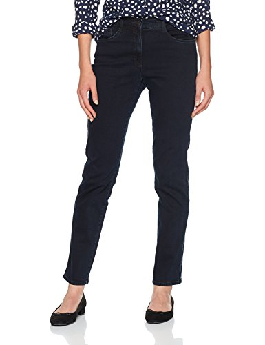 BRAX Damen Slim Jeans BX_MARY Brillia Blau (Clean Dark Blue 22), W38/L32 (Herstellergröße: 48) (Knit Jeans Womens)