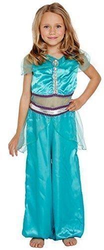 Ropa de descanso para niñas Arabian tipo libro Day diseño de princesas Disney harén de Katy Hackney Fancy disfraz infantil de disfraz e instrucciones para hacer vestidos 4-12 años (Vestido Ninas De)