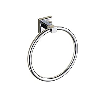 Aothpher Wall Mounted Towel Ring in kitchen Bathroom Chrome Stainless Steel Towel Holder