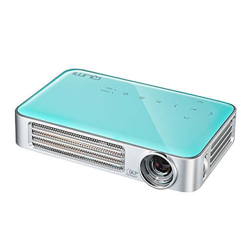 vivitek Qumi Q6, kompakter LED-Projektor im Taschenformat, 800 Lumen, Wireless, 1280x800 Pixel, Beamer mit 2.5GB interner Speic...