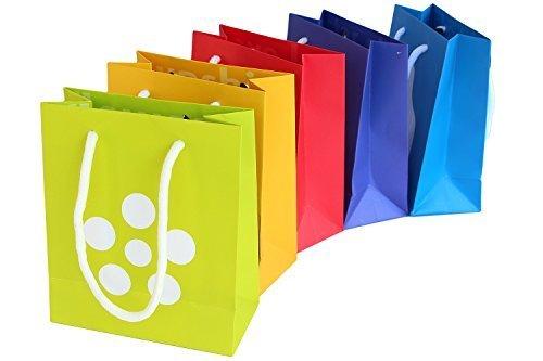 immi 5 Geschenk-Tüten/-Taschen Alternative f. Geschenkpapier Zeichen des Dankes