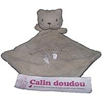 Kiabi – Doudou Nicotoy Kiabi oso gato plana Beige mes Jolis pequeños petons ...