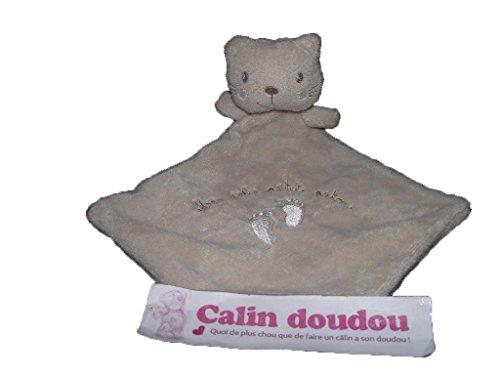 Kiabi–Doudou Nicotoy Kiabi oso gato plana Beige mes...