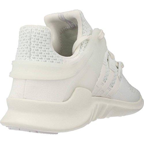 Basket, couleur Blanc , marque ADIDAS ORIGINALS, modèle Basket ADIDAS ORIGINALS EQUIPMENT SUPPORT ADV W Blanc vintage white-ftwr white-sub green
