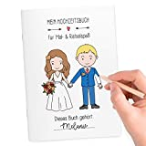 Wedding Shop Love Grows 5 Stück Hochzeitsmalbuch DINA5-24-seitig liebevoll gestaltetes Malbuch zur Hochzeit für Kinder, Gastgeschenke, Beschäftigung