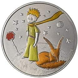 Monnaie de Paris Mini-MÉDAILLE COLORIZEE Petit Prince Fleur & Renard