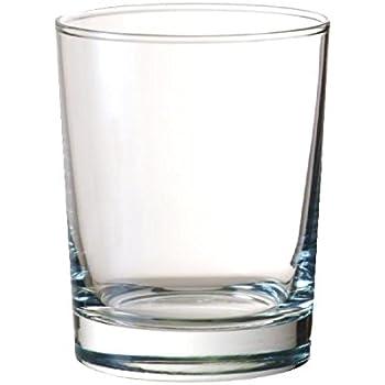 Höhe: 8.8 cm Hartglas Ø 8.6 cm 25 cl transparent Trinkglas 24 x Wasserglas
