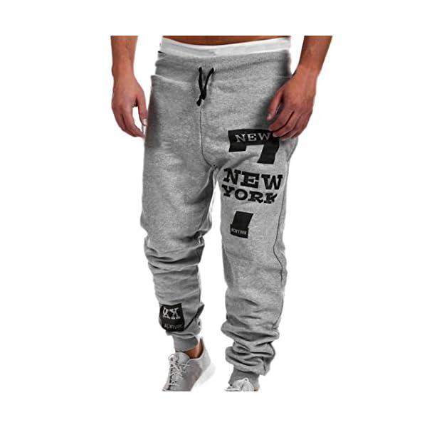 Chandal De Hombres Moda Pantalones De Chandal De Hombre Pantalones Casuales Para Hombres Running Yoga Pantalones Deportes