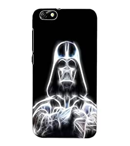 ColourCraft Digital Skeleton Design Back Case Cover for HUAWEI HONOR 4X