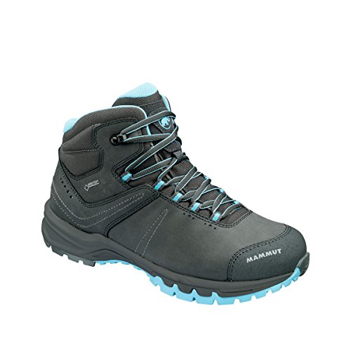 Damen Trekking- & Wander-Schuh Nova III Mid GTX®, Grau (graphite-whisper), EU 42