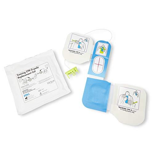 Zoll AED Plus Trainingsausrüstung, 2 CPR-D-Padz, wiederverwendbarer Herzdrucksensor, auswechselbare Pads - Cpr-trainer