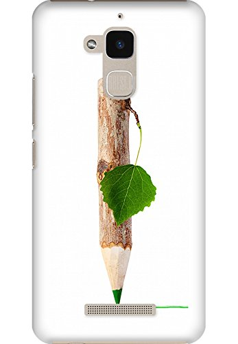 Amez designer printed 3d premium high quality back case cover for Asus Zenfone Pegasus 3 X008 (Green environmental protection idea)  available at amazon for Rs.249