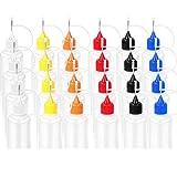 Gshy - Botellas vacías de Acero para Almacenamiento electrónico de Cigarrillos líquidos, Botella de Tinta líquida, dispensador de 15 Unidades