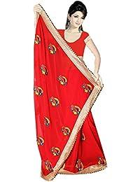 Karishma Women's Marble Saree,K002_Multicoloured_Freesize