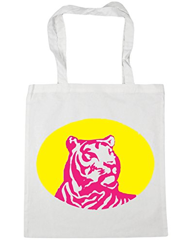 Strandtasche Weiß Hippowarehouse Hippowarehouse Damen Damen Strandtasche OYy6Tq6x