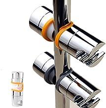 tinxi® alcachofa de la ducha postura de la cabeza de ducha barra de la ducha barra de la ducha slider slider slider titular de cromo barra de pared 22-25mm