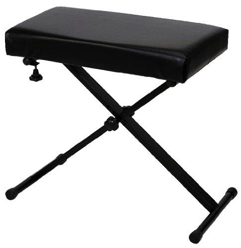 BSX 900535.0 - Banqueta para teclado, color negro
