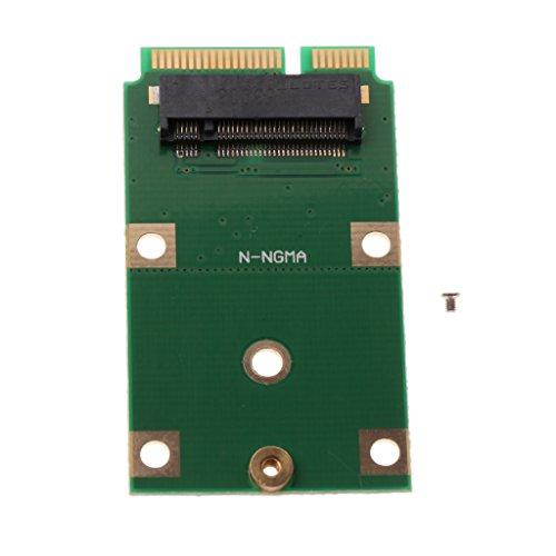 Baoblaze M.2 Adaptador SSD NGFF to mSATA Tarjeta Convertidor