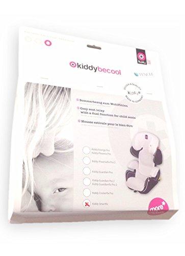 Preisvergleich Produktbild Kiddy Schutzhülle BeCool Wärme für Gruppen 2/3weiß