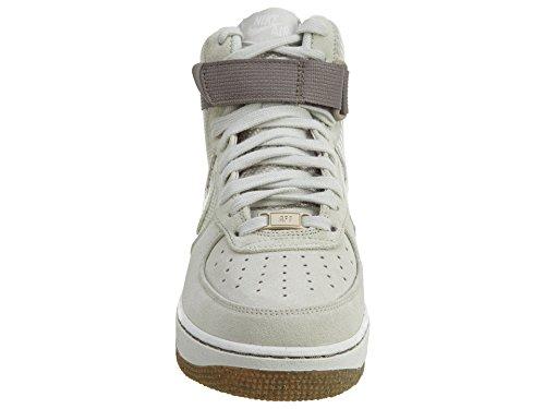 Nike - Wmns Air Force 1 Hi Prm, Scarpe sportive Donna Bianco (Blanco (Light Bone / Light Bone))