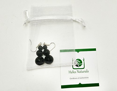 3-spheres-shungite-earrings-natural-stone-chakra-crystal-healing-energy-karelia-russia