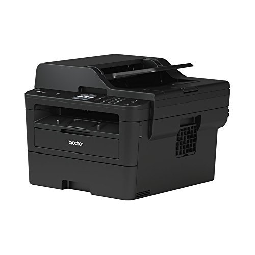 Brother MFC-L2750DW Kompaktes 4-in-1 S/W-Multifunktionsgerät (Drucken, Scannen, Kopieren, Faxen, A4, echte 1.200x1.200 dpi, Vollduplex, 250 Blatt Papierkassette, USB 2.0, LAN, WLAN, Touchscreen) (In One Laser-brother All)