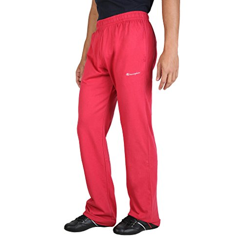 Champion Logo Trainingshose (Champion Herren Hose rot rot M)