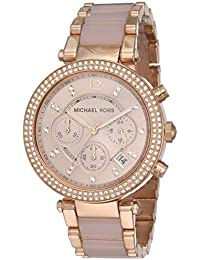 Michael Kors Analog Rose Dial Women's Watch - MK5896