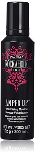 Tigi Bed Head Rockaholic Amped Up Volumenmousse, 1er Pack (1 x 200 ml)