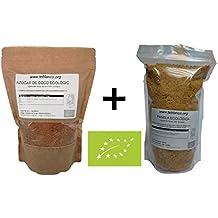 [900g Panela Ecológica + 500g Azúcar de Coco Ecológico] Pack Azúcares ecológicos