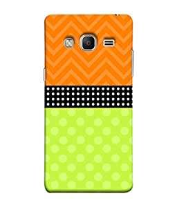 PrintVisa Designer Back Case Cover for Samsung Galaxy Z3 Tizen :: Samsung Z3 Corporate Edition (Flowers Prints Polka Dots Lines)