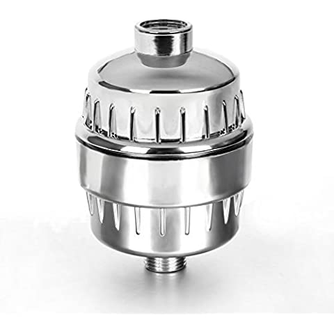 I3C Filtro de Agua de Ducha Purificador de Agua de Ducha Reduce el Cloro el Sarro y los Metales Pesados Cromado