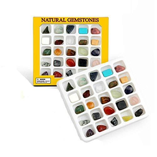 Edelsteine Naturstein Set Heilstein Set mit 25 Natural Gemstones